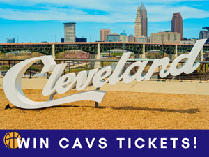 Two Tickets to a Cavs Game Up for Bid!
